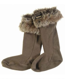 Barbour Fur Top Wellington Wellie Sock Liners
