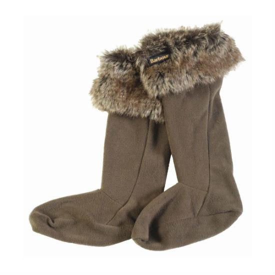 Barbour Fur Top Wellie Wellington Boot Liner