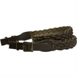 Bisley Plaited Leather Rifle Sling