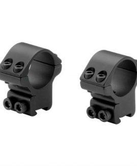 Bisley Sportsmatch 30mm 2 Piece Scope Mounts - Medium & High
