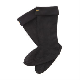 Barbour Fleece Wellington Sock Footwear Accessories Blac UFA0006BK11