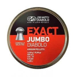 JSB Exact Diabolo Jumbo .22 Air Rifle Pellets 5.50 / 5.51 / 5.52 / 5.53 x500