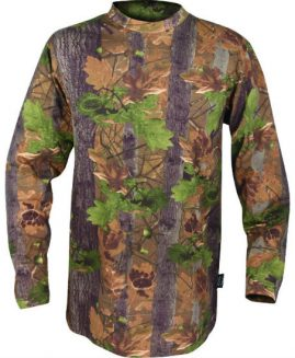 Jack Pyke Long Sleeve English Oak Camo T-Shirt