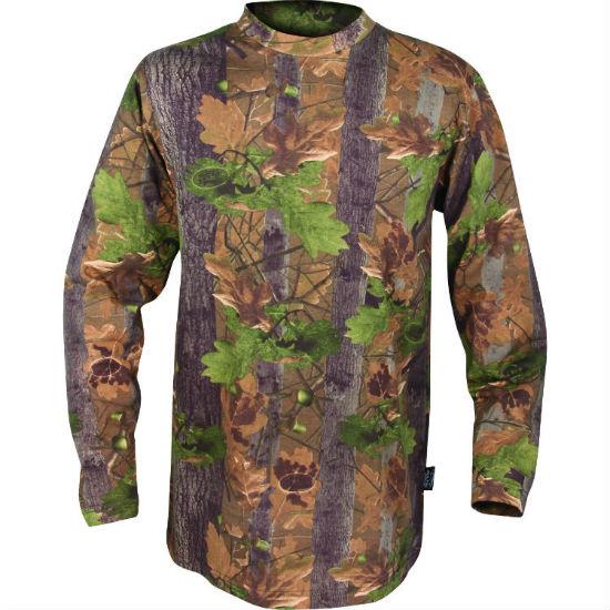 Jack Pyke Long Sleeve T Shirt English Oak