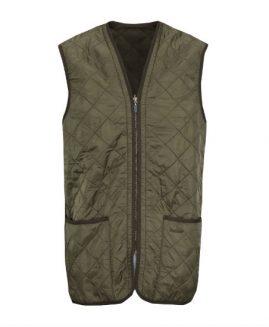 Barbour Polarquilt Waistcoat / Zip in Liner