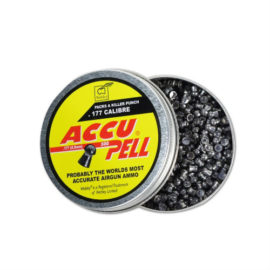 Webley .177 Accupell Air Rifle Pellets