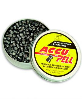 Webley .22 AccuPell Air Rifle Pellets