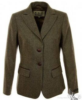 Barbour Ladies Thornton Tweed Blazer