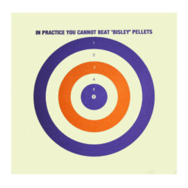 "Air Rifle / Pistol Card Targets 6.75"" x100"