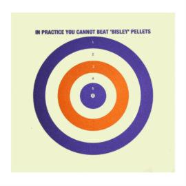 bisley paper target colour