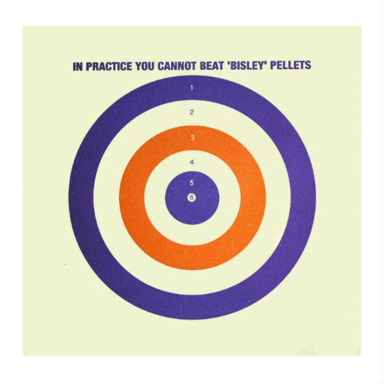 """Air Rifle / Pistol Card Targets 6.75"""" x100 - Countryway"""