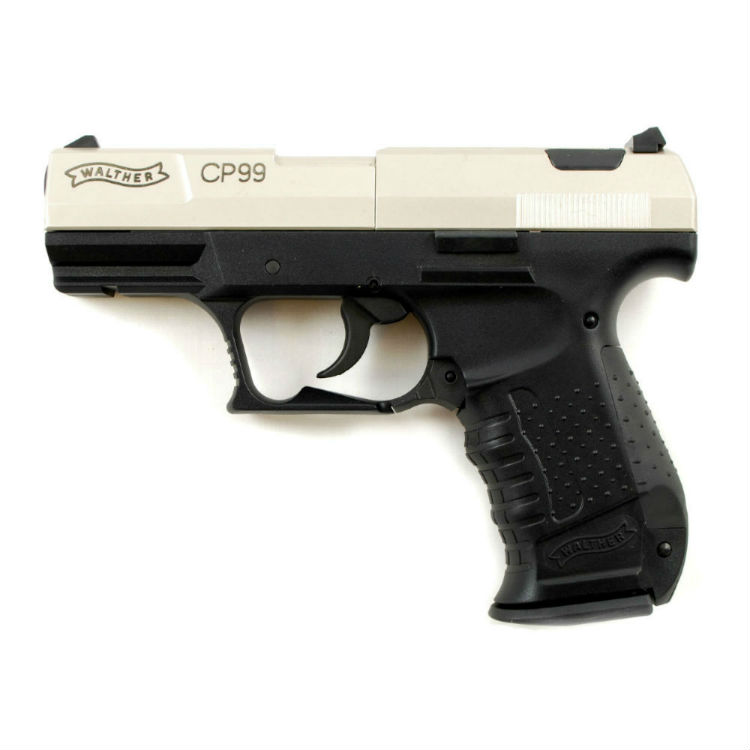 Walther CP99 Nickel  177 C02 Air Pistol