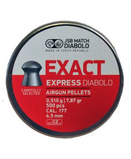 JSB Exact Express Diabolo .177 4.52 Air Rifle Pellets x500