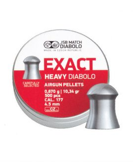 JSB Exact Heavy Diabolo .177 4.52 Air Rifle Pellets