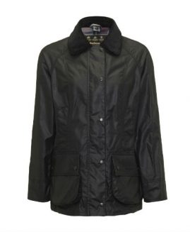 Barbour Ladies Classic Beadnell Waxed Jacket