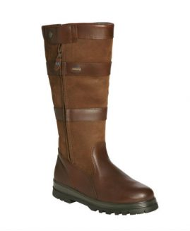 Dubarry Wexford Leather Boots & Free Tube of Leather Cream