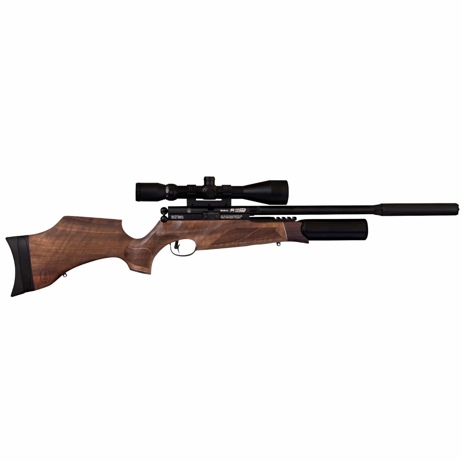BSA R10 SE PCP .177 .22 .25 Air Rifle Walnut, Black, Pepper or Realtree Camo