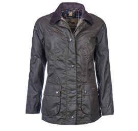 Barbour Beadnell Classic Ladies Waxed Jacket