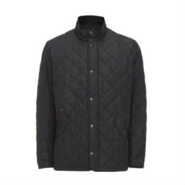 Barbour Chelsea Sportsquilt Jacket Black