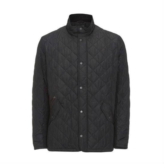 Barbour Chelsea Sportsquilt Jacket Black