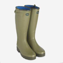 Le Chameau Chasseur Neoprene Zip Wellington Boots