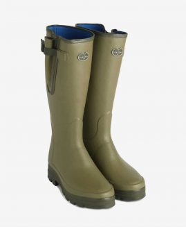 Le Chameau Vierzonord Neoprene Wellington Boots Wellies & Free Boot Bag