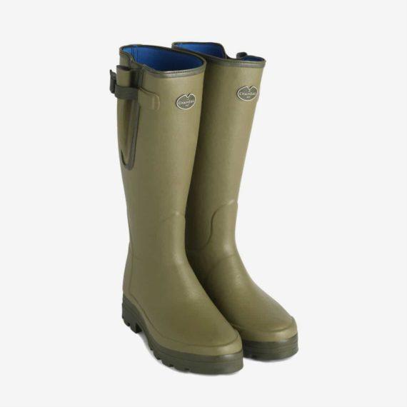 Le Chameau Vierzonord Neoprene Wellington Boots Wellies
