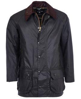 Barbour Beaufort Waxed Jacket - Sage