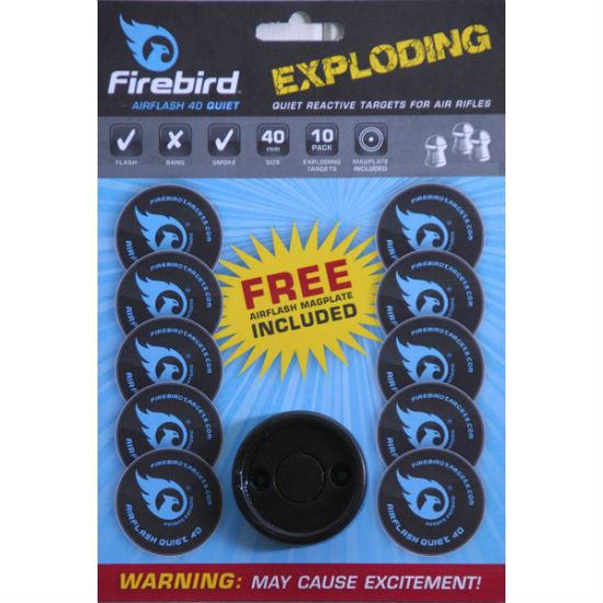 Firebird Exploding Targets Blue