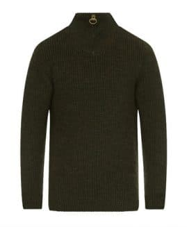 Barbour Tyne Zip Neck Jumper