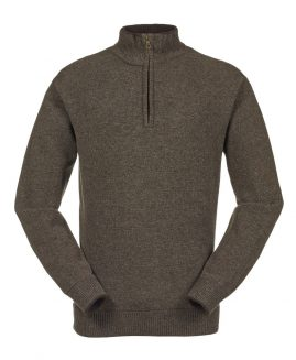 Musto Shooting Zip Neck Jumper