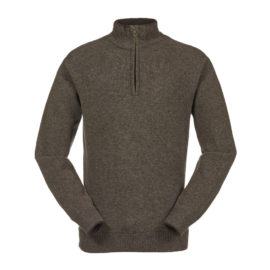 Musto Shooting Zip Neck Jumper Mulch CS1650