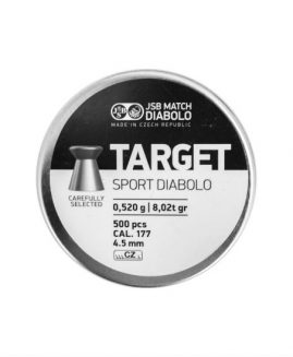 JSB Match Target Sport Diabolo .177 Air Rifle Pellets