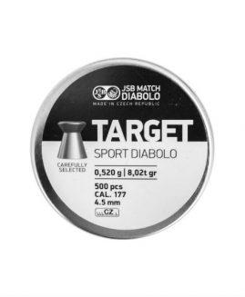 JSB Match Target Sport Diabolo .177 Air Rifle Pellets