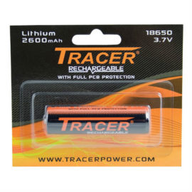 Tracer 18650 Rechargeable 2600mAh Battery