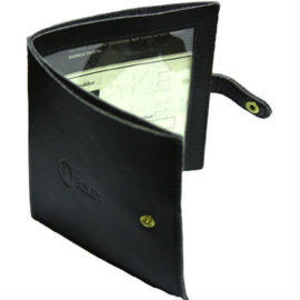 Bisley Leather Certificate Licence Holder Wallet