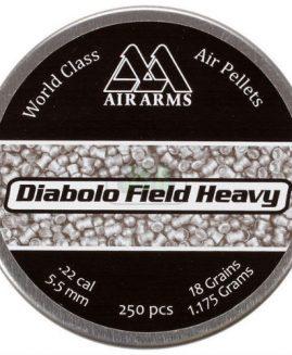 Air Arms Diabolo Field Heavy .22 Air Rifle Pellets
