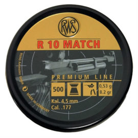 RWS R10 Match Rifle .177 4.49 4.50 Air Rifle Pellets