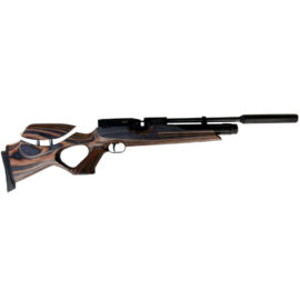 Weihrauch HW100 Laminate Adjustable Stock Air Rifle & Silencer .177 .22 or .20