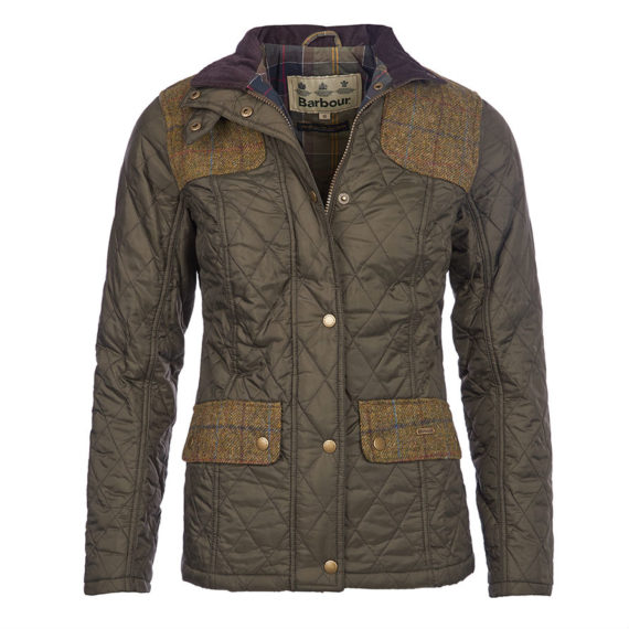 LQU0479OL72 Barbour Ladies Iris Quilt Jacket (1)