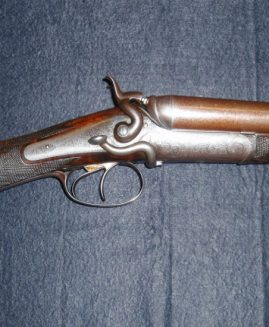 Boss & Co 12 Bore Side Lever Patent Hammer Gun
