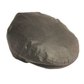Barbour Wax Flat Cap - Olive