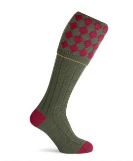 Pennine Kendal Cardinal Shooting Socks