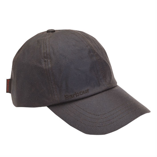 wax sports cap rustic barbour baseball coated remove from