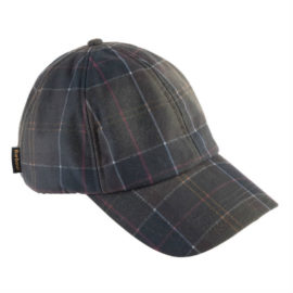Barbour Tartan Wax Sports Baseball Cap