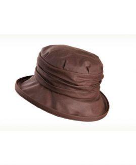 Olney Ladies Annabel Wax & Rouched Crown Hat