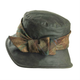 Olney Nancy Wax & Tweed Bow Hat