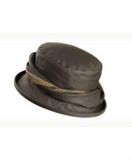 Olney Emma Wax Hat with Twist Detail
