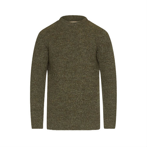 MKN0789KH71 Barbour Tyne Crew Neck Jumper Derby