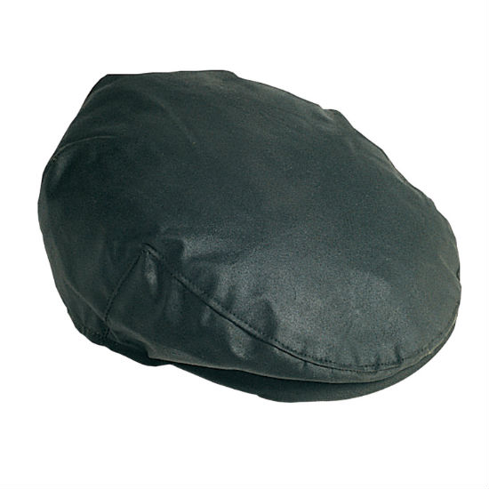 MHA0003SG91 Barbour Wax Flat Cap Sage